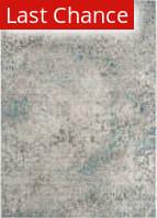Rugstudio Sample Sale 166499R Grey - Light Blue Area Rug