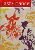 Rugstudio Sample Sale 112168R Light Grey / Purple Area Rug