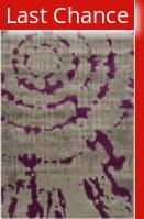 Rugstudio Sample Sale 143598R Light Grey - Purple Area Rug