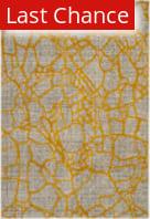 Rugstudio Sample Sale 166570R Light Grey - Yellow Area Rug