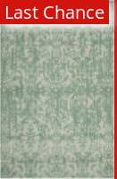 Rugstudio Sample Sale 155685R Grey - Turquoise Area Rug