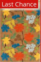 Rugstudio Sample Sale 61386R Brown / Multi Area Rug