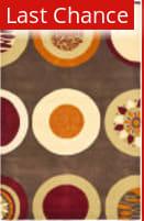 Rugstudio Sample Sale 47291R Brown / Multi Area Rug