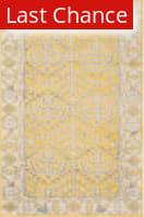 Rugstudio Sample Sale 108098R Yellow Area Rug