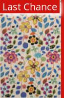 Rugstudio Sample Sale 94417R Ivory / Multi Area Rug