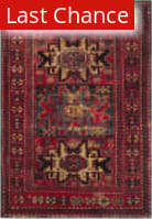 Rugstudio Sample Sale 166790R Red - Multi Area Rug