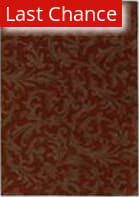 Shaw Origins Diva Cayenne Red 06800 Area Rug