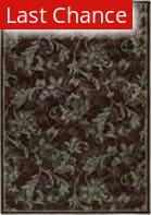 Shaw KI Home Gallery Lovelines Brown 19700 Area Rug