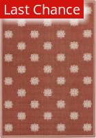 Rugstudio Sample Sale 106010R Beige / Red Area Rug