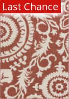 Rugstudio Sample Sale 106012R Beige / Red Area Rug