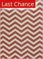 Rugstudio Sample Sale 106046R Ivory / Red Area Rug