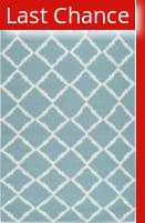 Rugstudio Sample Sale 73235R Dark Robin's Egg Blue Area Rug