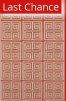 Rugstudio Sample Sale 88350R Poppy Red Area Rug