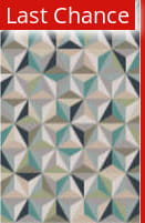 Rugstudio Sample Sale 106396R Gray / Blue / Green Area Rug