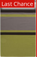 Rugstudio Sample Sale 106403R Lime / Gray Area Rug