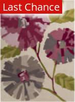 Rugstudio Sample Sale 106492R Neutral / Green / Violet (purple) Area Rug