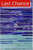 Rugstudio Sample Sale 111449R Cobalt Area Rug