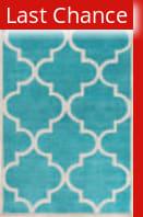 Rugstudio Sample Sale 111563R Teal Area Rug