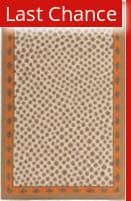 Rugstudio Sample Sale 117831R Burnt Orange Area Rug