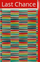 Rugstudio Sample Sale 107197R Red / Green Area Rug