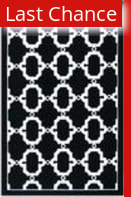 Rugstudio Sample Sale 53195R Black/white Area Rug