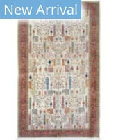Azad Heriz  Multi - Red Area Rug