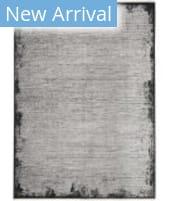 Calvin Klein Balian CK51 Grey - Black Area Rug