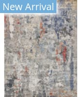Exquisite Rugs Laurena Hand Knotted 4022 Blue - Grey - Multi Area Rug