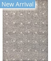 Exquisite Rugs Easton Hand Knotted 4036 Silver - Grey - Ivory Area Rug
