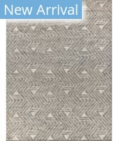Exquisite Rugs Easton Hand Knotted 4037 Charcoal - Ivory - Silver Area Rug