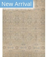 Exquisite Rugs Beckham Hand Knotted 4230 Beige - Light Blue - Multi Area Rug