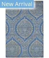 Feizy Luxury VOL-5707 Teal - Gold Area Rug