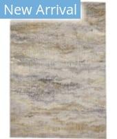 Feizy Aura 3735F Gold - Gray Area Rug