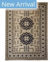 Feizy Foster 3754F Blue - Beige Area Rug