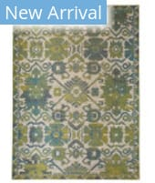 Feizy Foster 3758F Green - Beige Area Rug