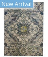 Feizy Foster 3760F Green - Beige Area Rug