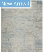 HRI Intrigue IN-109 Pearl - Blue Area Rug