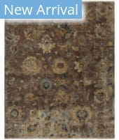 HRI Premia PR-11 Brown Area Rug