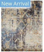 Famous Maker Milla 100172 Blue Multi Area Rug