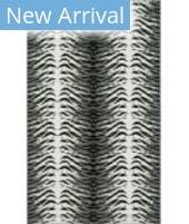 Karastan Kalahari Tiger Skin Gray Area Rug