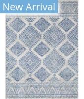 Kas Evolution 5104 Ivory - Blue Calypso Area Rug