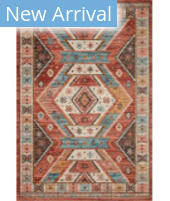 Loloi II Zion ZIO-05 Red - Multi Area Rug
