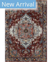 Loloi II Samra SAM-10 Brick - Grey Area Rug