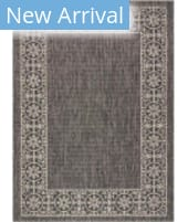 Nourison Country Side CTR03 Charcoal Area Rug