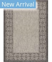 Nourison Country Side CTR03 Ivory - Charcoal Area Rug