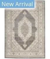 Nourison Cyrus CYR01 Ivory - Grey Area Rug