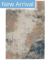 Nourison Rustic Textures RUS13 Grey - Blue Area Rug