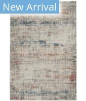 Nourison Rustic Textures RUS14 Light Grey Multi Area Rug