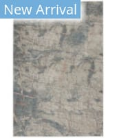 Nourison Rustic Textures RUS15 Light Grey - Blue Area Rug