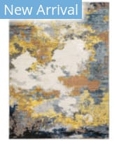 Oriental Weavers Caravan 530V8 Yellow - Blue Area Rug